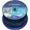 Диск CD-R Verbatim 700MB 52-х 50 шт cake box