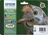 КАРТРИДЖ EPSON T079A4A Bk_C_LC_LM_M_Y MULTIPACK (6) Epson